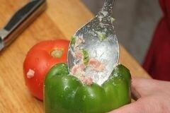 «Фаршированные овощи.» - приготовления блюда - шаг 3