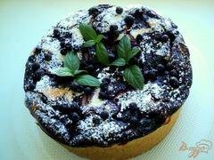 «Чизкейк с черникой» - приготовления блюда - шаг 10