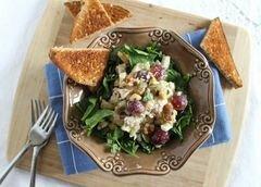 «Оздоровительный салат с тунцом Уолдорф» - приготовления блюда - шаг 3