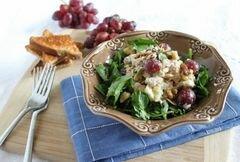 «Оздоровительный салат с тунцом Уолдорф» - приготовления блюда - шаг 5