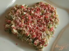 """«Салат """"Сердечная симфония""""» - приготовления блюда - шаг 5"""