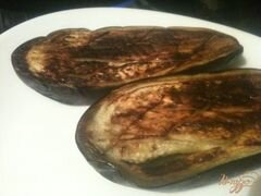 «Мусс из баклажан со сливками» - приготовления блюда - шаг 1