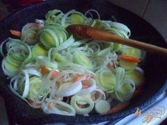 """«Сырный суп с креветками """"Послепраздничный""""» - приготовления блюда - шаг 3"""