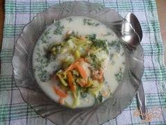 """«Сырный суп с креветками """"Послепраздничный""""» - приготовления блюда - шаг 5"""