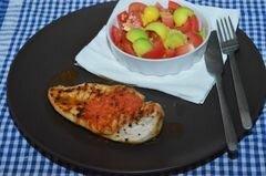«Куриное филе с красным перцем» - приготовления блюда - шаг 5