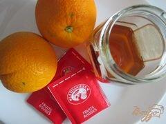 «Чайная настойка с апельсиновым соком» - приготовления блюда - шаг 1