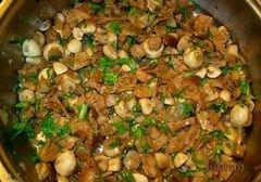 «Ризотто с грибами» - приготовления блюда - шаг 3