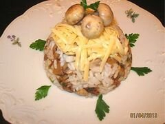 «Ризотто с грибами» - приготовления блюда - шаг 4