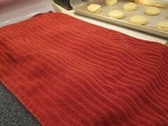 «Пончики с клубничным желе» - приготовления блюда - шаг 10