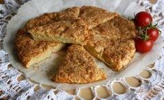 «Сконы или сырные лепешки» - приготовления блюда - шаг 7