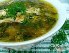 «Суп со щавлем «Зелёный»» - приготовления блюда - шаг 4