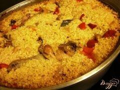 «Пшенная каша с курицей и овощами» - приготовления блюда - шаг 4