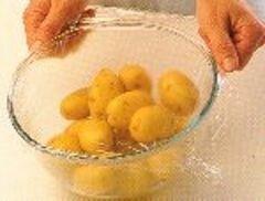 """«""""Отмороженная"""" картошка или запеченный картофель» - приготовления блюда - шаг 3"""