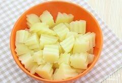 «Салат из картофеля без майонеза» - приготовления блюда - шаг 1