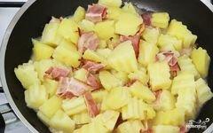 «Салат из картофеля без майонеза» - приготовления блюда - шаг 6