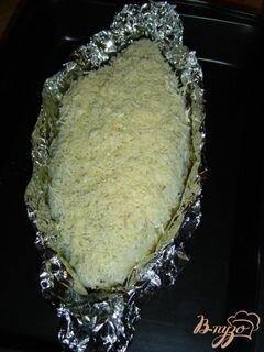 """«Скумбрия в """"шубе""""» - приготовления блюда - шаг 6"""