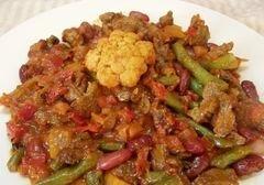 «Острые овощи» - приготовления блюда - шаг 12