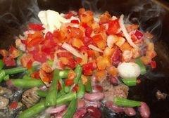 «Острые овощи» - приготовления блюда - шаг 9
