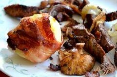 «Беконовый ужин» - приготовления блюда - шаг 4