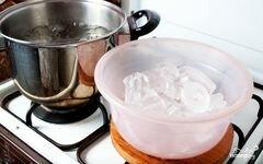 «Бланшированные яблоки» - приготовления блюда - шаг 2