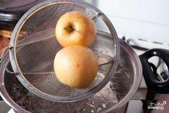 «Бланшированные яблоки» - приготовления блюда - шаг 4
