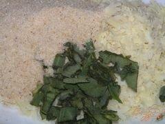 «Белый амур под сырно-шалфейной корочкой» - приготовления блюда - шаг 1