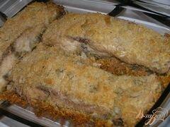 «Белый амур под сырно-шалфейной корочкой» - приготовления блюда - шаг 4