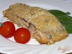 «Белый амур под сырно-шалфейной корочкой» - приготовления блюда - шаг 5
