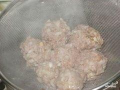 «Куриные тефтели на пару» - приготовления блюда - шаг 6