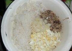 «Салат из сардины» - приготовления блюда - шаг 4
