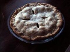 «Яблочный пирог без сахара» - приготовления блюда - шаг 12