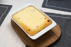 «Идеальная творожная запеканка» - приготовления блюда - шаг 7