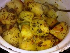 «Запеченная, пряная картошка» - приготовления блюда - шаг 2