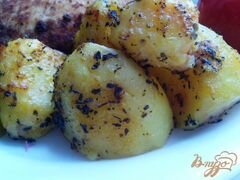 «Запеченная, пряная картошка» - приготовления блюда - шаг 4