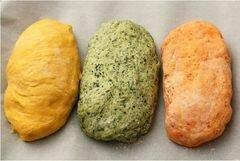 «Трехцветный хлеб» - приготовления блюда - шаг 4