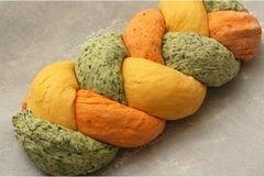 «Трехцветный хлеб» - приготовления блюда - шаг 6