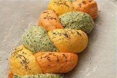 «Трехцветный хлеб» - приготовления блюда - шаг 7