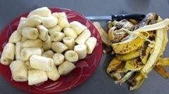 «Бананы в миндале» - приготовления блюда - шаг 2