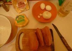 «Быстрые куриные котлетки с сыром» - приготовления блюда - шаг 1