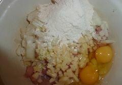 «Быстрые куриные котлетки с сыром» - приготовления блюда - шаг 5