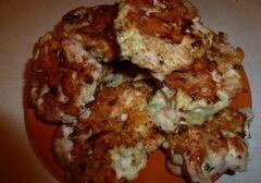 «Быстрые куриные котлетки с сыром» - приготовления блюда - шаг 7