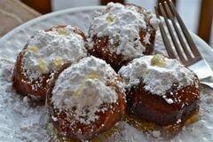 «Бисквитные пончики» - приготовления блюда - шаг 4
