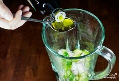 «Зеленый салат с помидорами и авокадо» - приготовления блюда - шаг 2