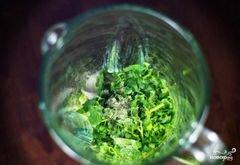«Зеленый салат с помидорами и авокадо» - приготовления блюда - шаг 4
