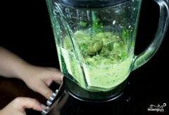 «Зеленый салат с помидорами и авокадо» - приготовления блюда - шаг 5