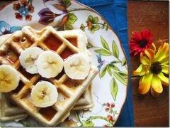 «Банановые вафли» - приготовления блюда - шаг 5