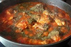 «Чахохбили из курицы» - приготовления блюда - шаг 5