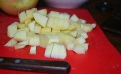 «Фруктовый белый салат» - приготовления блюда - шаг 3