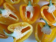 «Фаршированные перчики» - приготовления блюда - шаг 1