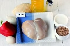 «Гречаники паровые в мультиварке» - приготовления блюда - шаг 1